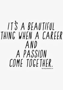 Career & Passion